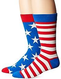 Socksmith Flags Mens Crew Socks