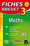 Fiches Brevet Maths 3e: fiches de révision
