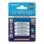 4 pilas recargables Eneloop