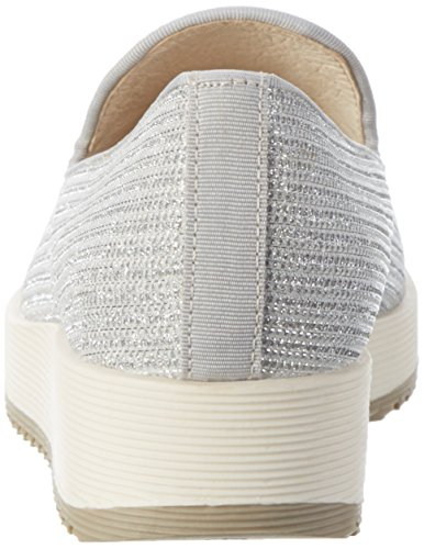 Buffalo 15bu0091 Glitter, Mocassins Femme Blanc (White471)
