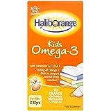 Haliborange Enfants Oméga- 3 D'Huile De Poisson Capsules De Vitamines A , C , D Et E (90)