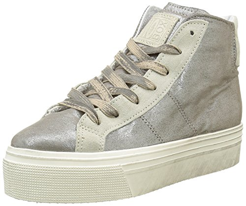No Box - Bristol, Sneaker Donna, Beige (Irise Sand), 41