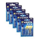 5 Blister Varta High Energy 1, 5V Mignon AA (4 Batterien je Blister)