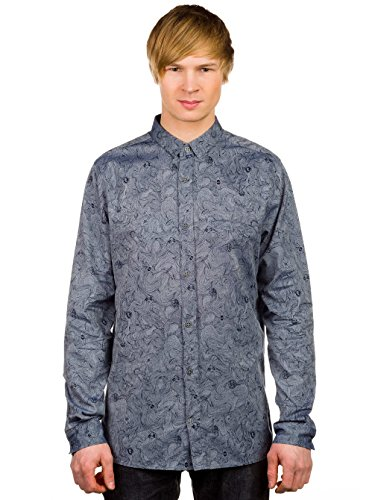 Herren Hemd lang Volcom Bricks Hemd Print