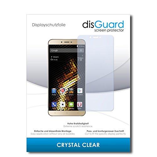 disGuard® Bildschirmschutzfolie [Crystal Clear] kompatibel mit BLU Vivo 5 [3 Stück] Kristallklar, Transparent, Unsichtbar, Extrem Kratzfest, Anti-Fingerabdruck - Panzerglas Folie, Schutzfolie