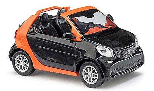 busch-50774-h0-smart-fortwo-cabrio-2015-cmd-noir
