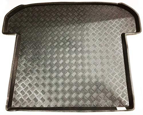 PVC Kofferaummatte Kia Sorento 7 Sitze (2015 - Neuheiten) - Tercera Fila Sitze Cerrada - Autofussmatten Koenig®