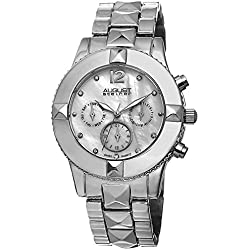 August steiner Damen-Armbanduhr Analog Quarz AS8107SS