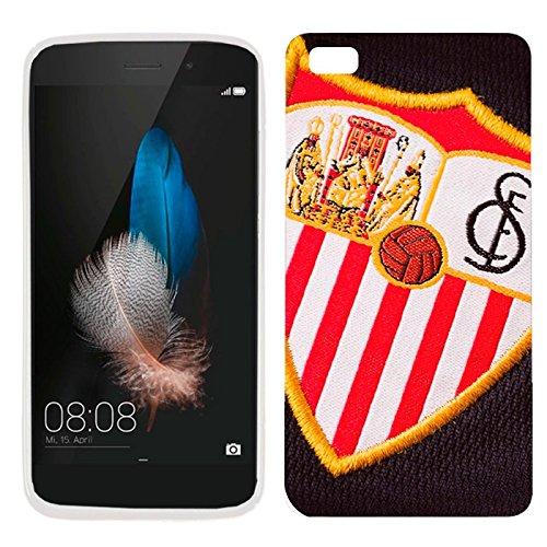 Funda Carcasa Premium para Huawei P8 Lite Futbol Licencia Oficial Sevilla CF