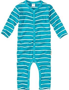 wellyou Baby und Kinder Schlafanzug/Pyjama aus Baumwolle in türkis weißen