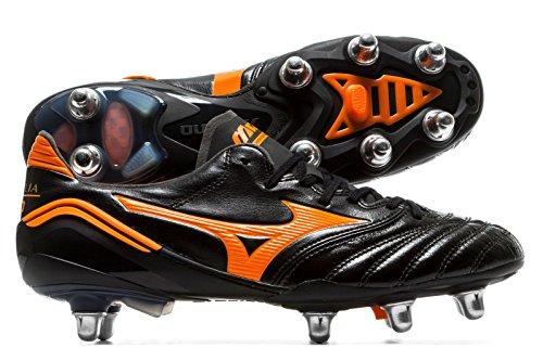 Morelia Neo II SI SG - Crampons de Foot - Noir/Orange Black