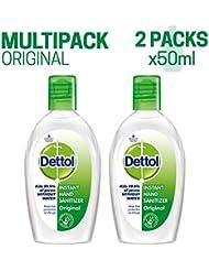 Dettol Instant Hand Sanitizer - 50 ml (Pack of 2)