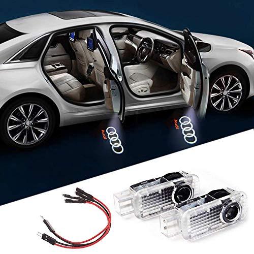 2 Stück Autotür logo Türbeleuchtung Auto Willkommen Licht Einstiegsleuchte Projektion Licht