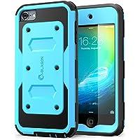 APPLE iPod touch 6/5generación móvil, i-Blason Armorbox Case para IPOT con protector de pantalla integrado, azul