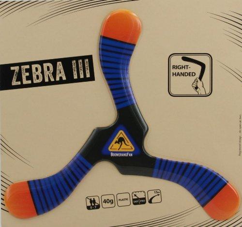 Bumerang Zebra III Rechtshänder