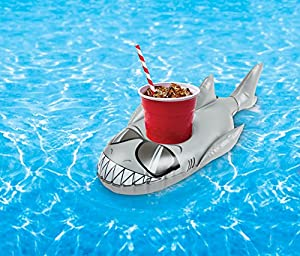 Big Mouth Toys BMDF-SH Big Mouth BEV Tiburones para Bote, 2 Unidades, Multicolor