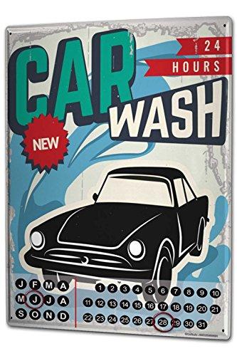 calendario-perpetuo-coches-vintage-lavado-coche-metal-imantado