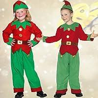 Costume da nano Travestimento folletto per bimbi S 116 122 cm (3 - 5 0510b9b3a70e