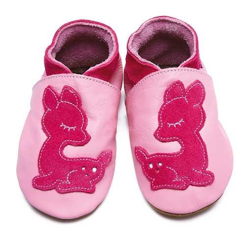 Inch Blue, Mädchen Babyschuhe - Krabbelschuhe & Puschen  rosa T 24-25 cm
