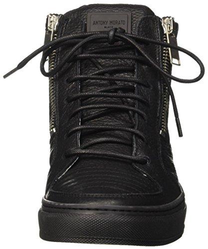 Antony Morato Mmfw00734-le300002, Sneaker a Collo Alto Uomo Nero
