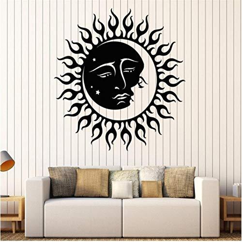 Wandaufkleber Sonne Und Mond Sterne Wandaufkleber Vinyl Wandtattoo Kinder Schlafzimmer Raumdekoration Wandaufkleber Persönlichkeit Tapete - Badezimmer Mond Sonne Und Sterne