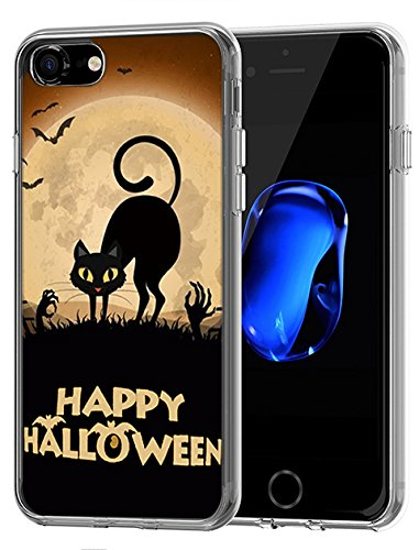 Lovely stoßfest Fall für Apple iPhone 7 (2016)/iPhone 8 (2017) Happy Halloween Serie, Design-11