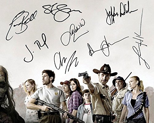 The Walking Dead Cast Autogramme Signiert 21cm x 29.7cm Foto Plakat Bilder Von The Walking Dead Cast