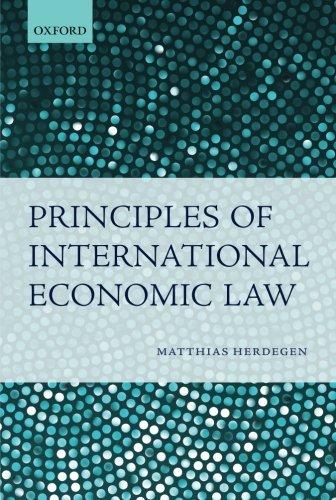 Principles of International Economic Law