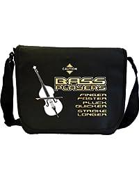 Double Bass Finger Faster - Sheet Music Document Bag Musik Notentasche MusicaliTee