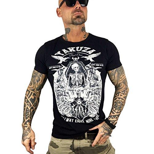 Yakuza Original Herren Hellway T-Shirt Schwarz