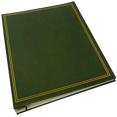 Dorr Classic selbstklebende nachfüllbar Fotoalbum, Vinyl, grün, 33x 5x 25cm Refill Foto-album-seiten 8x10