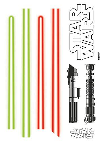 tar Wars Lightsaber, 1 Stück, grün/rot, 14020h (Star Wars Light Saber)