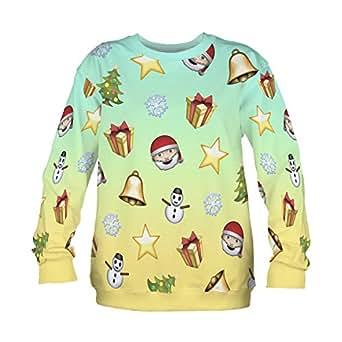 Fringoo unisex christmas party jumper sweatshirt xmas sweater funny