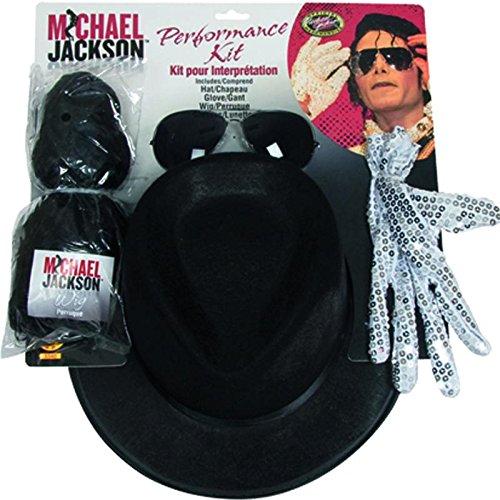 Rubies 3 5340 - Michael Jackson Accessoires Set (Halloween Michael Jackson Kostüme)