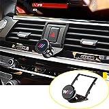 Yiwang Support de téléphone portable en alliage d'aluminium 3 couleurs pour X3 G01 2018 2019, pour X4 G02 2018 2019 Accessoires de voiture