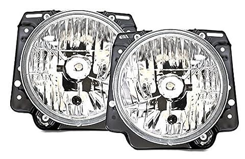 AD Tuning GmbH & Co. KG Ensemble de 960041Phare, verre transparent Chromé