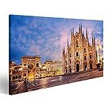 islandburner Bild Bilder auf Leinwand Milan Cathedral,