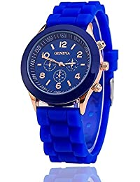 GT Gala Time New Chronograph Dial Design Blue Color Wrist Watch For Girls & Women