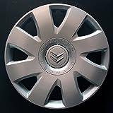 Wheeltrims Set von 4New Radzierblenden für Citroen C4/C1/C2/C3/C5/C8/NEMO/Berlingo/Xsara Picasso/Jumpy mit original Felgen in 40,6cm