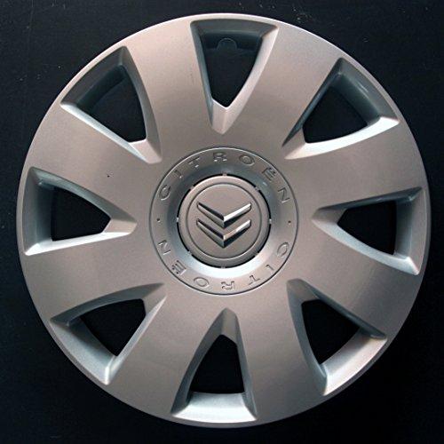 Wheeltrims Lot de 4enjoliveurs Neufs pour Citroen C4/C1/C2/C3/C5/C8/Nemo/Berlingo/Xsara Picasso/Jumpy avec Jantes d'origine en 40,6cm