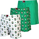 #9: Boston_Celtics 3-Pack Banded Team Boxer Shorts - GREEN/White