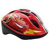Kinderfahrradhelm 51-55 cm Disney Cars Größe S Fahrradhelm auch für Skateboard, Rollschuh Sport TÜV geprüft Lightning McQueen