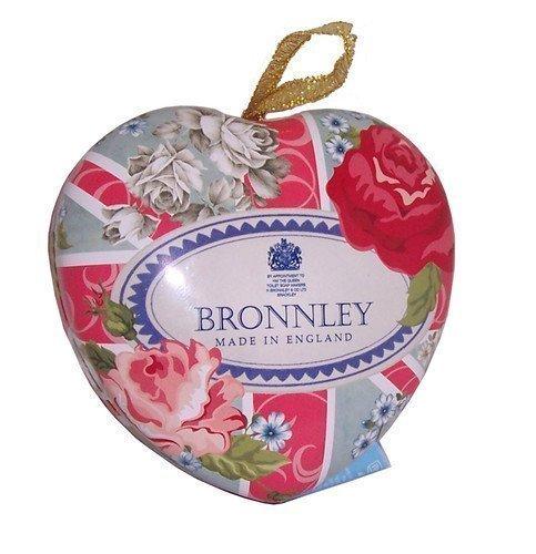 Bronnley Best of British Pink Bouquet Seife & Herzformige Schachtel 100g
