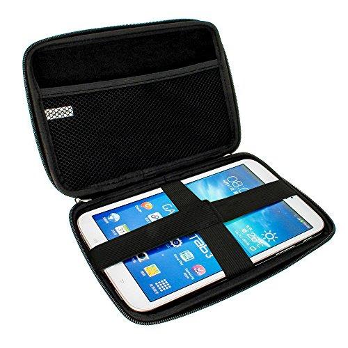 igadgitz Schwarz EVA Hart Tasche Hülle Schutz Case Cover für Samsung Galaxy Tab 3 Lite 7.0