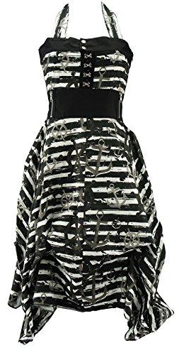 Vixxsin Neckholder-Kleid DEAD SEA DRESS black Black