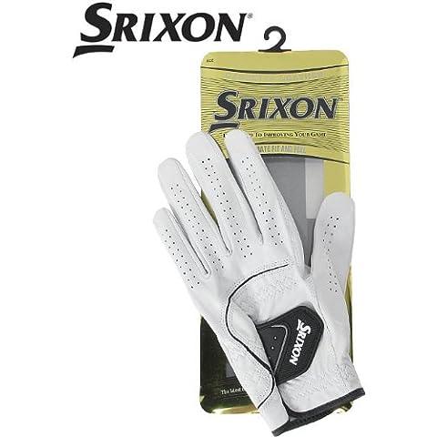 Srixon - Guanti da golf, in cuoio, da uomo, taglia: L