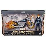 Hasbro - Marvel Ultimate Legends Figurina Ghost Rider, Multicolore (LCDF9738)