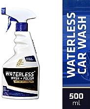 Autoluster Waterless Car Wash & Polish With Microfiber Cloth (500