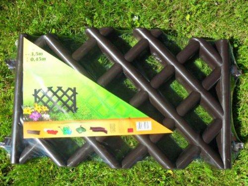Steccato Giardino Plastica : Legno plastica frstech wpc steccato da giardino in plastica bordo