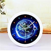 DIDADI Alarm clock 3D Solid Blue Planet kleine Alarm stilvollen Desktop Ladestation, wenn kreative Uhren faule... preisvergleich bei billige-tabletten.eu